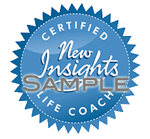 New Insights certified life coach identifier