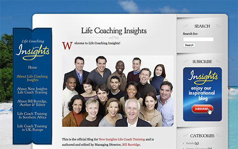Life Coaching Insights website